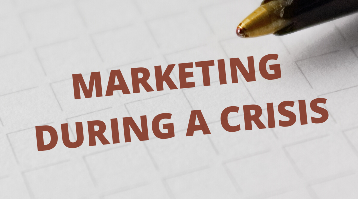 marketing during a crises blog post featured image
