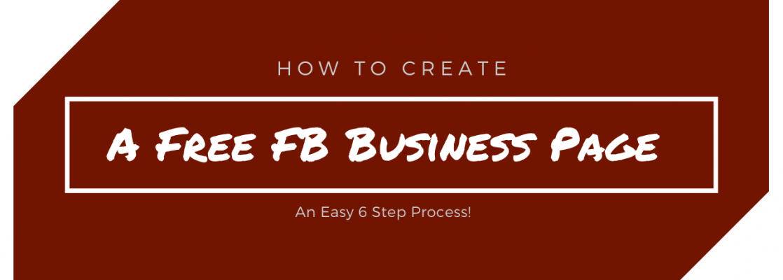 how to create a free fb business page thumbnail image