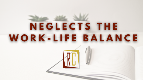 The fear-based workplace neglects the work life balance