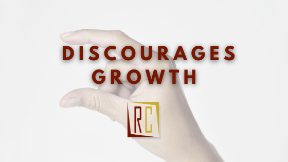 Fear in the workplace discourages growth