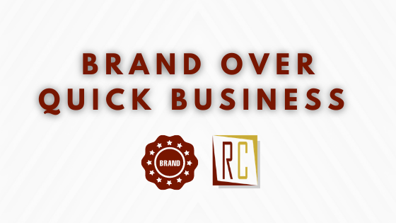 brand over quick business empathic based marketing