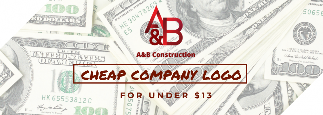 cheap company logo blog post cover image